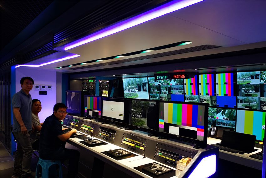 The first in the world, the most technologically advanced 8K OB VAN