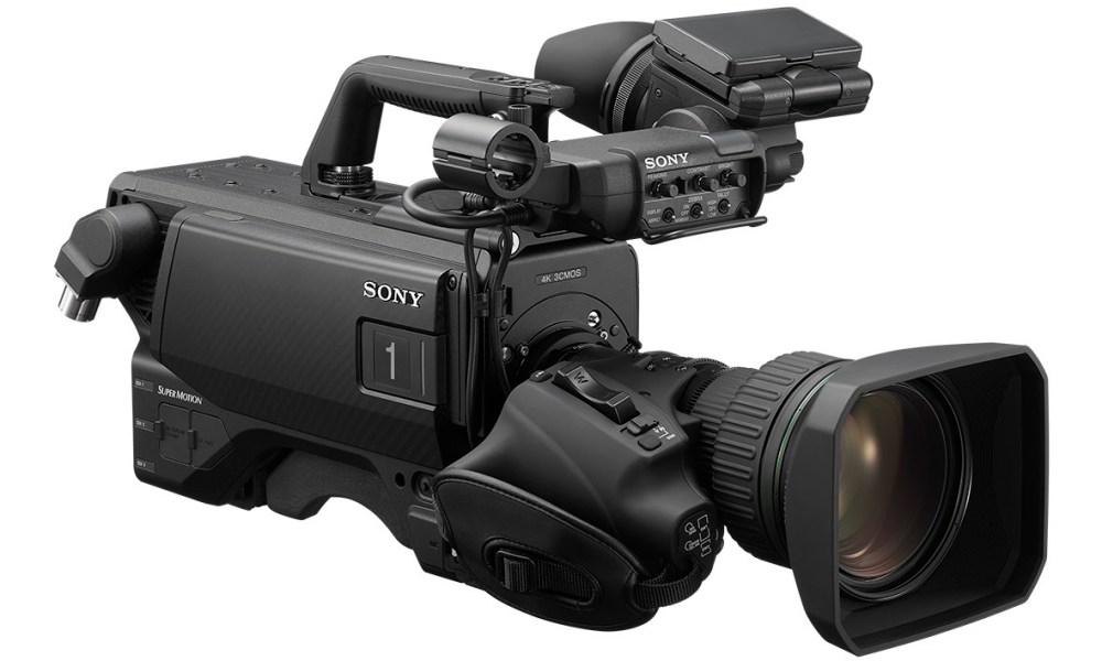 Sony HDC-5500 system camera 4K brings new levels of image quality
