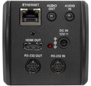 Obsługuje sygnał wideo, sterowanie oraz zasilanie za pomocą jednego kabla ethernetowego (I/O)