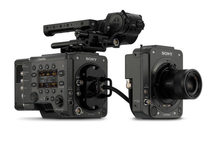 System  rozszerzenia kamery VENICE (CBK-3610XS) umożliwia oddzielenie bloku  przetwornika obrazu od korpusu kamery